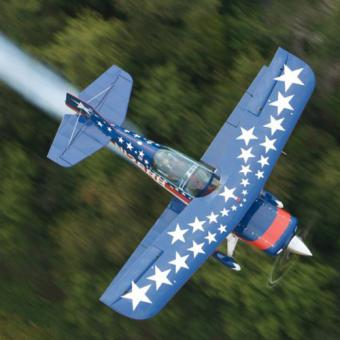 Biplane Thrill Ride in Indianapolis