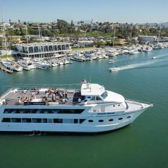 Yacht Cruise in Newport Beach California