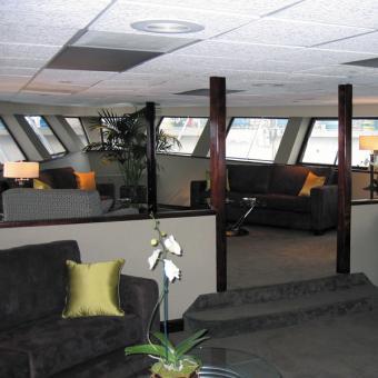 Newport Beach Dinner Cruise Interior
