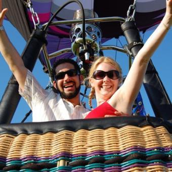 Romantic Balloon Ride