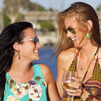 LA Sunset Cruise in Summer
