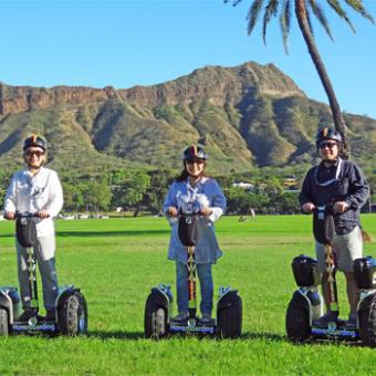Mountains during Hawaii Hoverboarding Tour