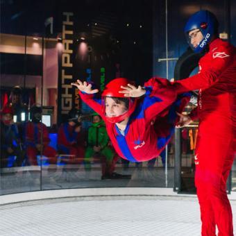 Indoor Skydiving in Houston