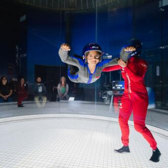 Fly in a Wind Tunnel