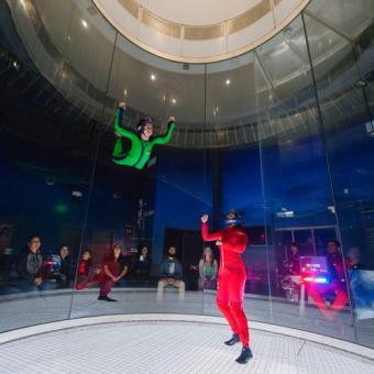 Indoor Skydiving Wind Tunnel
