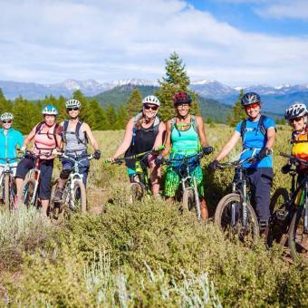 Lake Tahoe Mountain Bike Lesson
