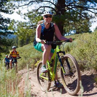 Guided Tahoe Mountain Bike Trip for Beginners