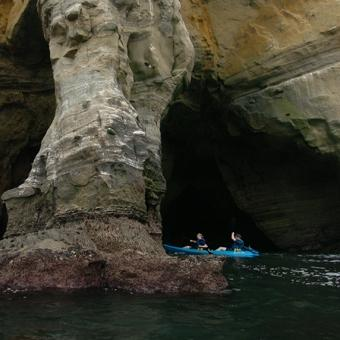 La Jolla Sea Caves Kayak Tour in San Diego