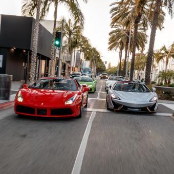 Exotic Car Tour in LA