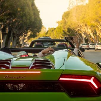 Drive a Lamborghini in Los Angeles