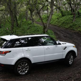 Land Rover Adventure near Boston