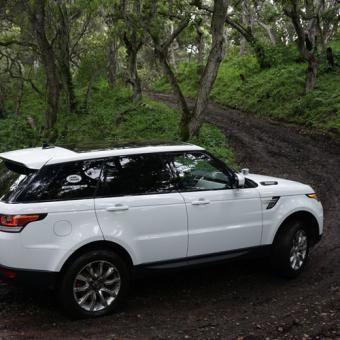 Land Rover Adventure near Boston