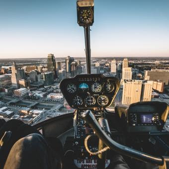 Fly a Helicopter over Kansas City