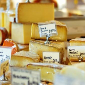 Cheese at Napa Food Tour in San Francisco