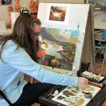 Chicago Private Art Class
