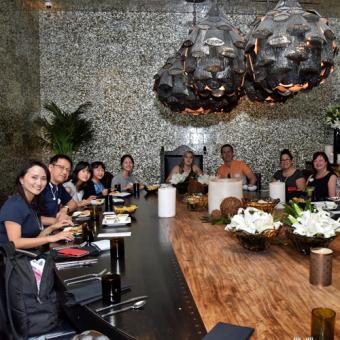 VIP table at Vegas Food Tour