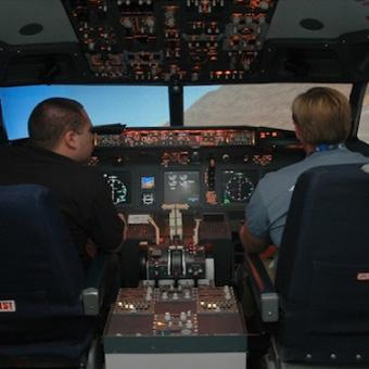 Boeing Flight Simulator near Los Angeles