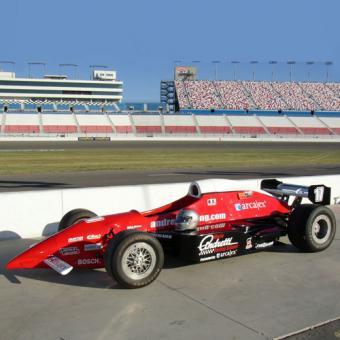 Las Vegas Motor Speedway Indy Driving