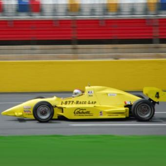 Indy Car Driving at Texas Motor Speedway