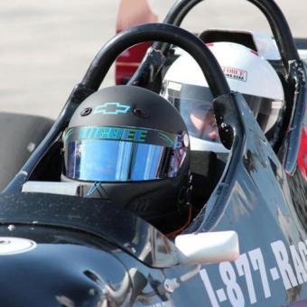 Indy Car Ride Along near Cleveland
