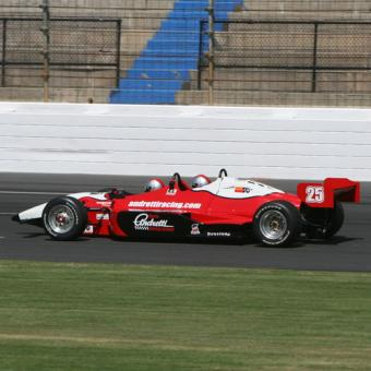 Auto Club Speedway Indy Car Ride Along