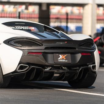 Race a McLaren 570S near Boston