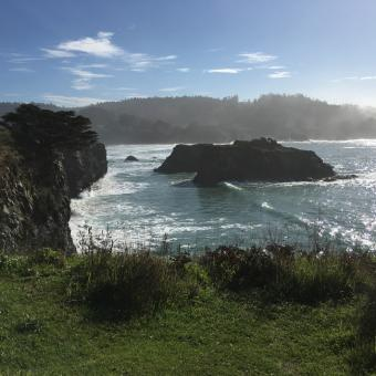 Camping on the California Coast