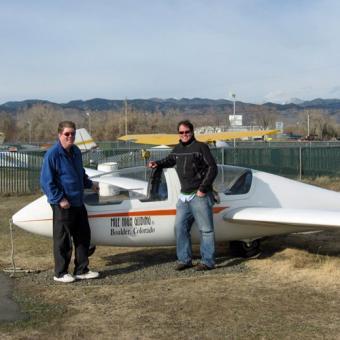Ride a Glider in Denver