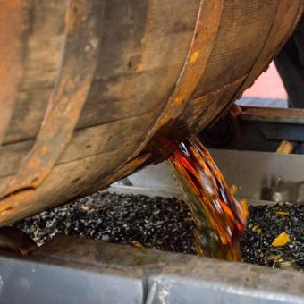 Bourbon Straight from the Barrel