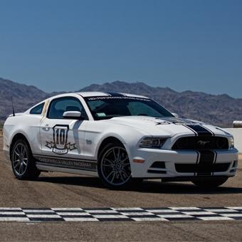 Mustang Driving School - Chuckwalla Valley Raceway
