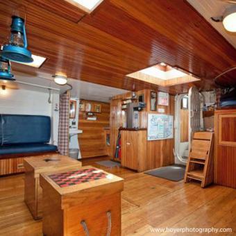 Tall Ship Cabin in Boston