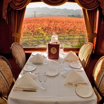 Dinner Train through Napa Valley