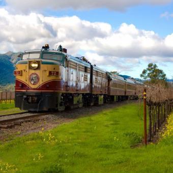 Napa Train and Winery Tour