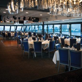 Dining Hall on Dinner Cruise in Richmond