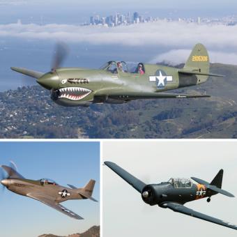 Warbird Flight Experience near San Jose