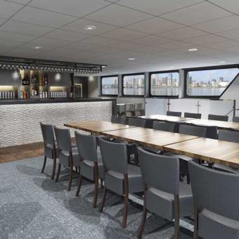 Interior Gourmet Boston Dinner Cruise