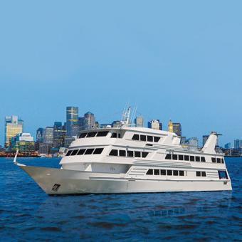 Yacht for Boston Gourmet Brunch Cruise