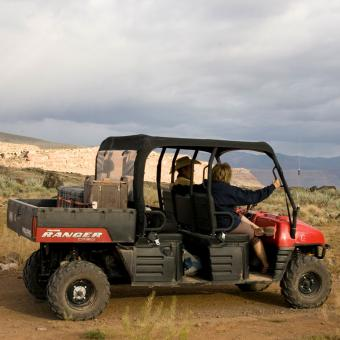 Guided Polaris Ride through Lake Mead Recreation Area