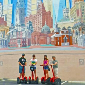 Philadelphia Mural Segway Tour