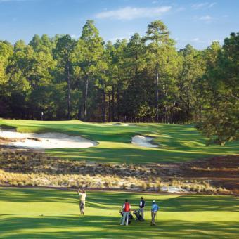 Play Golf at Pinehurst Resort in Richmond