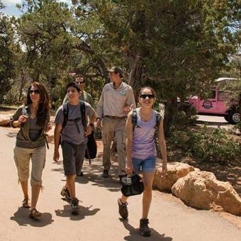 Guided Grand Canyon Walking Tour