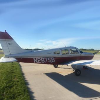 Flight Lesson in a Piper Warrior