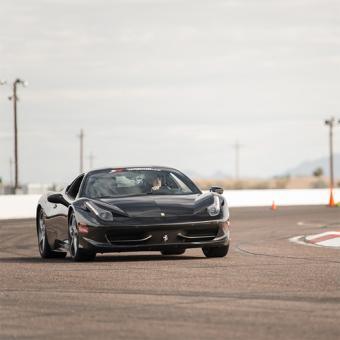 Race a Ferrari 458 Italia near Detroit