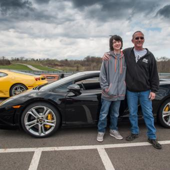 Drive a Lamborghini near Detroit