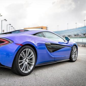 Race a McLaren at Palm Beach International Raceway