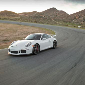 Race a Porsche near Detroit