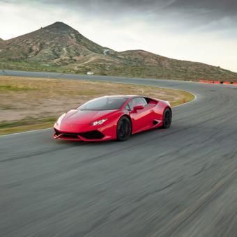 Race a Lamborghini near Salt Lake City
