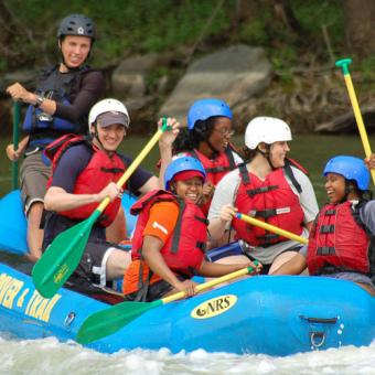 DC Guided Whitewater Rafting Trip