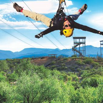 African Safari Zipline Adventure ACT-PHX-0019