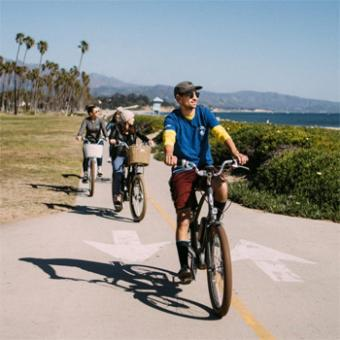 Electric Bike Tour in Santa Barbara